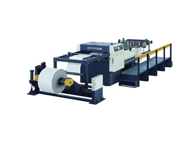 Servo Controlled High Speed Paper Roll Sheeting Machine